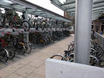 Haymarket cycle parking
