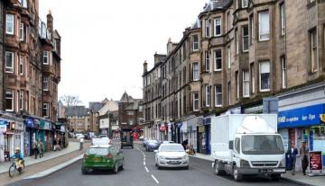 Roseburn Terrace visualisation